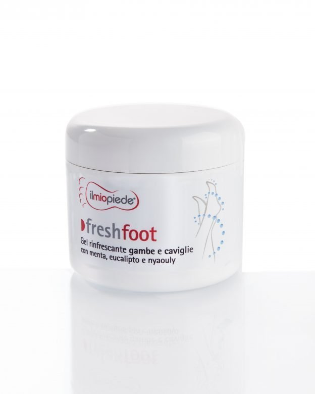 Gel rinfrescante per gambe e caviglie? Ti presento Freshfoot 1