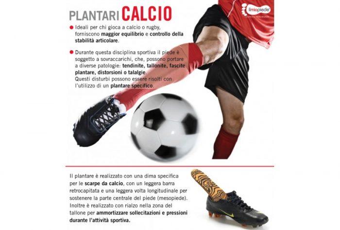 Calcio - Plantari Ortopedici