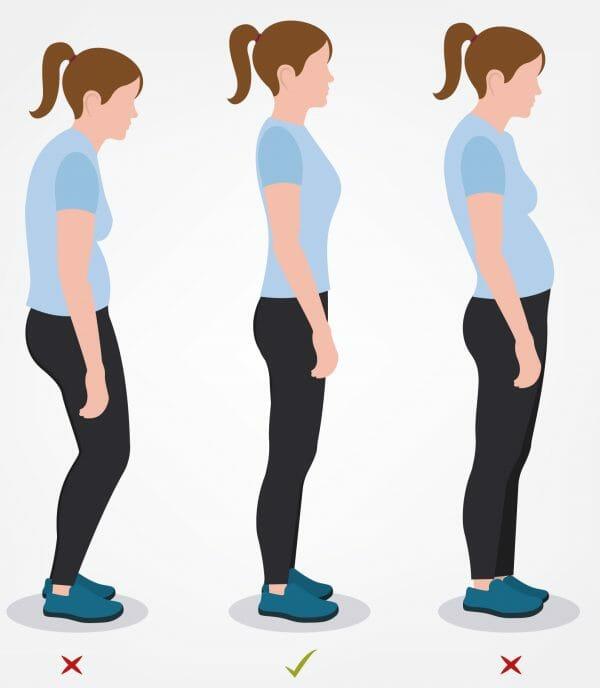Migliorano la postura