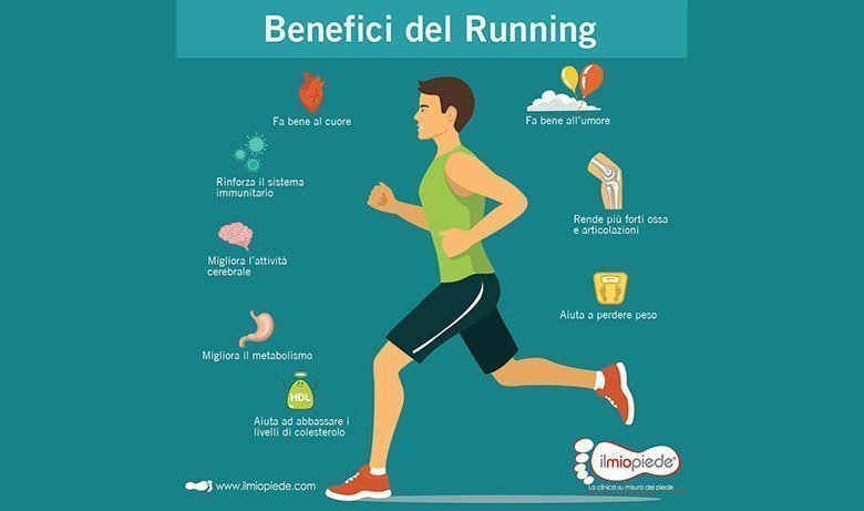 benefici del running