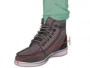 Indossare scarpe di qualità
