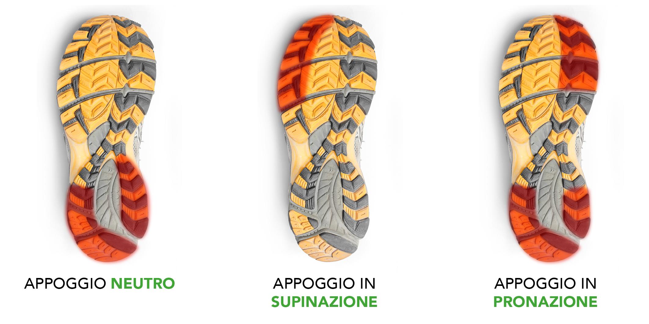 Pronazione o Supinazione: riconosci l'appoggio del piede 4